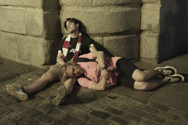IN PICS: They came, they drank, they conquered. How Liverpool fans turned Madrid red