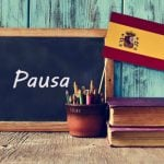 Spanish word of the day: 'Pausa'