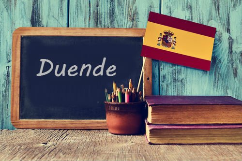 Spanish Word of the day: 'Duende'