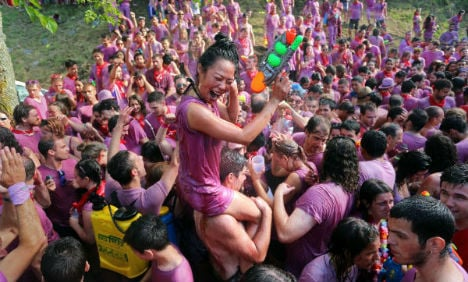 IN PICS: Is the Battle of the Wine Spain's coolest festival?