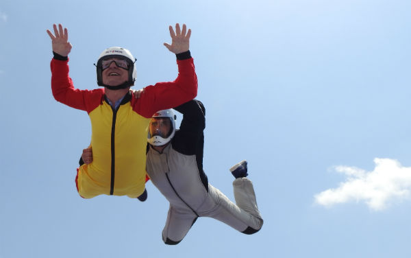 Costa del Sol opens Spain's first outdoor skydiving simulator