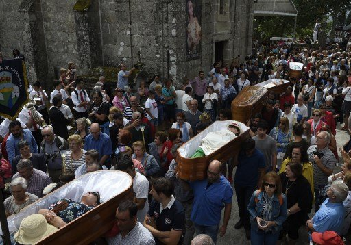 WATCH: Paraded alive in coffins? This has to be Spain's strangest fiesta