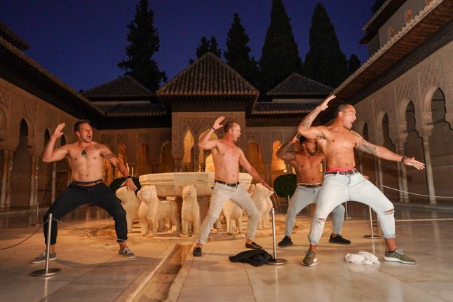 WATCH: All Blacks perform haka in Alhambra's famous patio