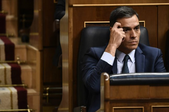 How can Sanchez avoid fresh elections in Spain?