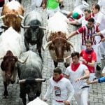 One more American and a Brit injured in Spain's Pamplona bull run