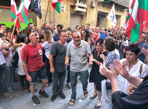 New outcry in Spain as tributes paid to freed ETA terrorists