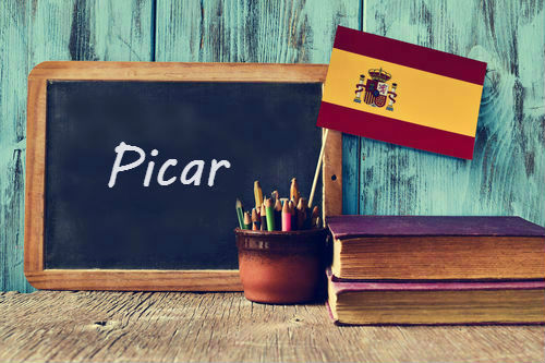 Spanish word of the day: 'Picar'