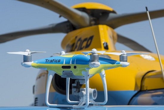 Spy in the sky: Drones will be monitoring roads in Spain to catch bad drivers