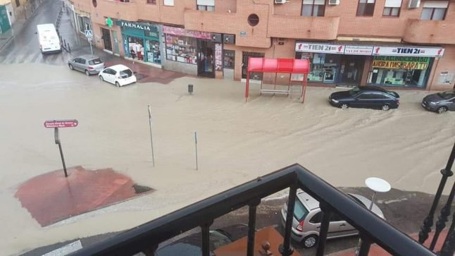 WATCH: Cars swept away in flash floods as Madrid hit by storms