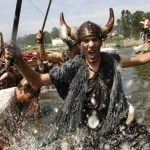 Why a village in northwestern Spain is about to be invaded by bloodthirsty Vikings