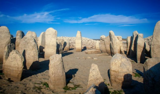 Drought reveals long lost 'Spanish Stonehenge' in Extremadura reservoir