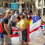 IN PICS: Brits in Malaga take to the streets against Brexit