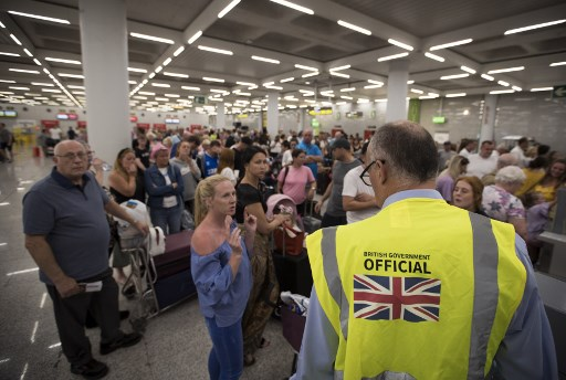 Thomas Cook collapse: Thousands stranded as 46 flights cancelled in Spain