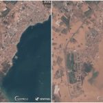 Satellite images reveal how the worst storms in Spain in 140 years have flooded the land