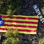 Sharp drop in numbers at annual Catalan separatist rally
