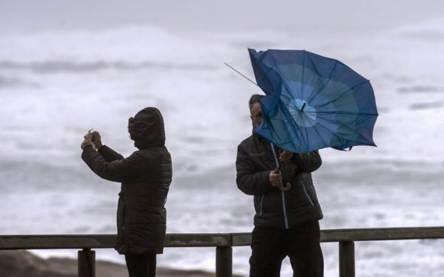 Wet and windy weekend: Weather warnings issued across much of Spain