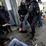 Eight police officers to be investigated over violence at Catalan referendum polls