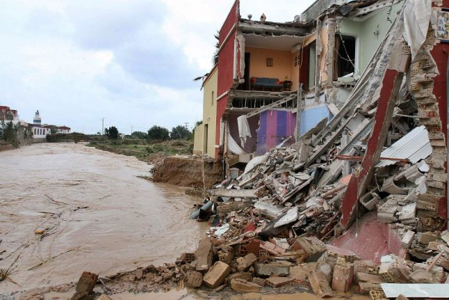 Dutch national missing in Spain's flooded Alicante