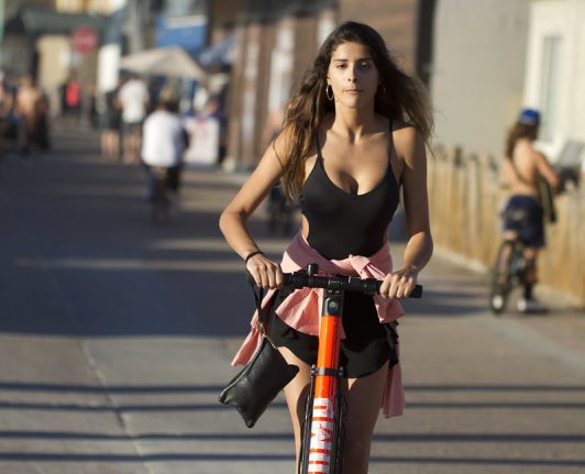 New laws: Spain plans crackdown on electric scooters