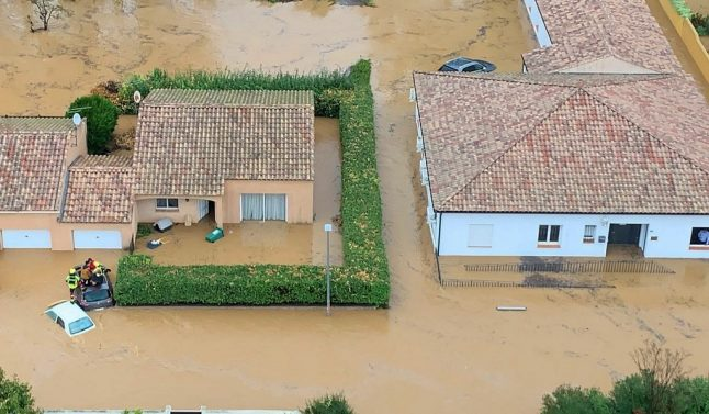 Three killed as southern France battered by storms