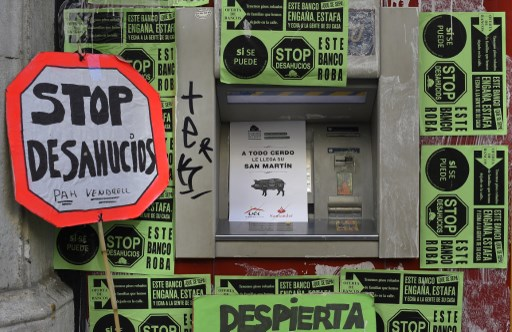 Spain slammed over eviction of single mother and her six children