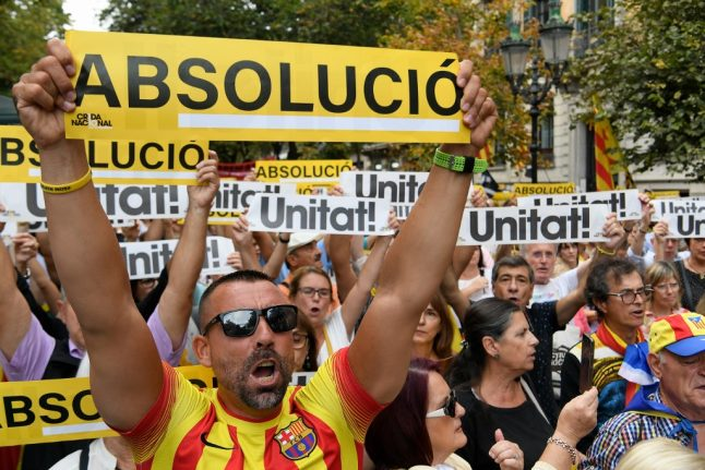 Madrid eyes fresh dialogue with Catalonia after jailed separatists' trial