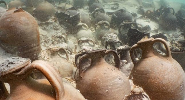 Mallorca divers discover Roman shipwreck full of perfectly preserved jars of 1800-year-old ketchup