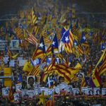 Roads blocked between France and Spain by Catalan separatist protesters