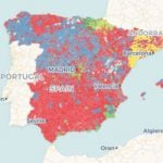 10-N: The maps that tell the story of how Spain voted