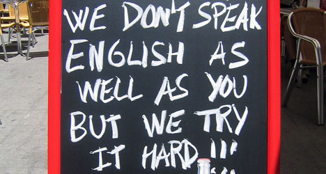 Why are the Spanish 'so bad' at speaking English?
