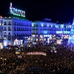 IN PICS: Women across Spain take to streets against gender violence and the far right Vox party