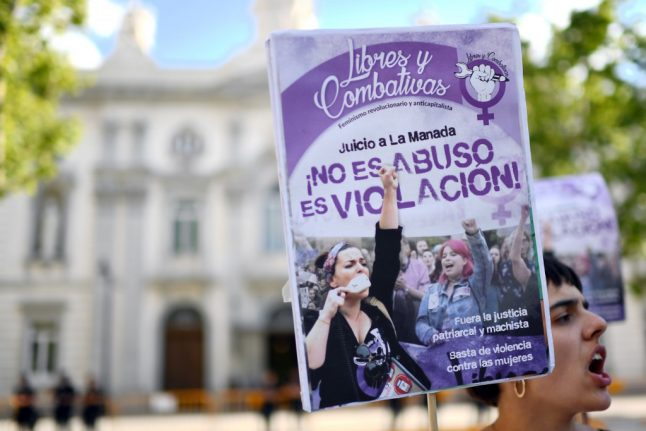 Outrage after Barcelona court convicts gang-rape accused on lesser charge