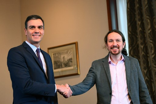 How Spain's new left-wing coalition fits into Europe's shifting political allegiances