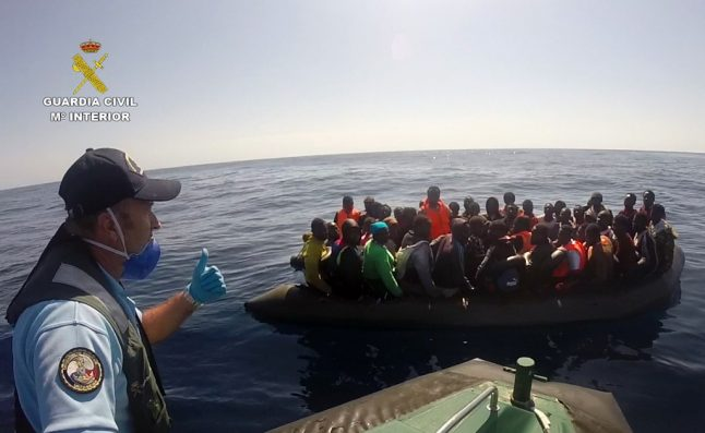 300 Spain-bound migrants rescued over two-day Christmas period
