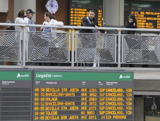 Pain in Spain: Rail strike planned for December 20th to disrupt Christmas getaway