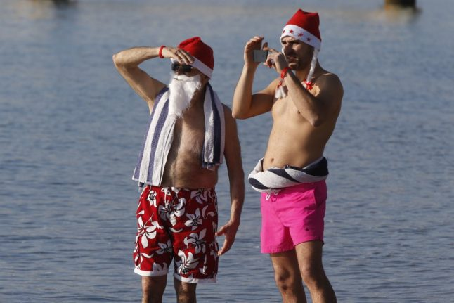 What will the weather be like this Christmas in Spain?