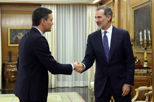 Spanish king tasks Pedro Sanchez with forming new government (but no date set yet)