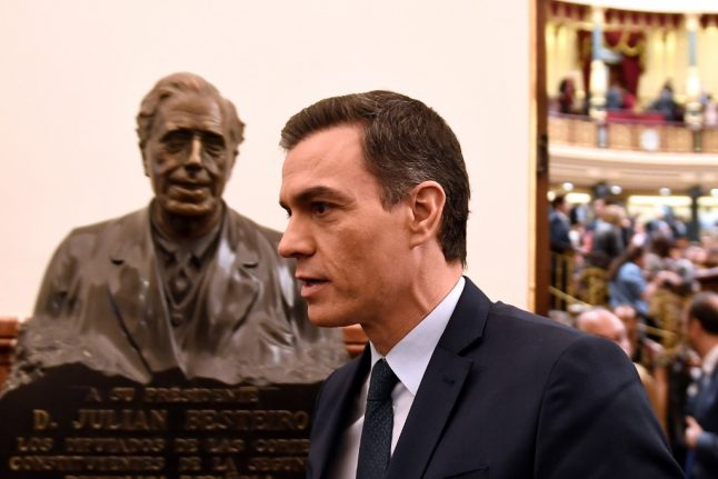Spain's Pedro Sanchez loses first bid to return as Prime Minister