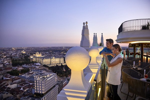 IN PICS: Madrid's newest rooftop terrace bar has the best views of the capital