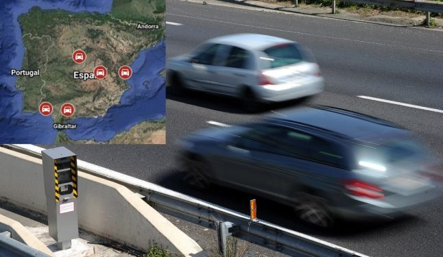 MAP: Where in Spain you are most likely to get caught speeding
