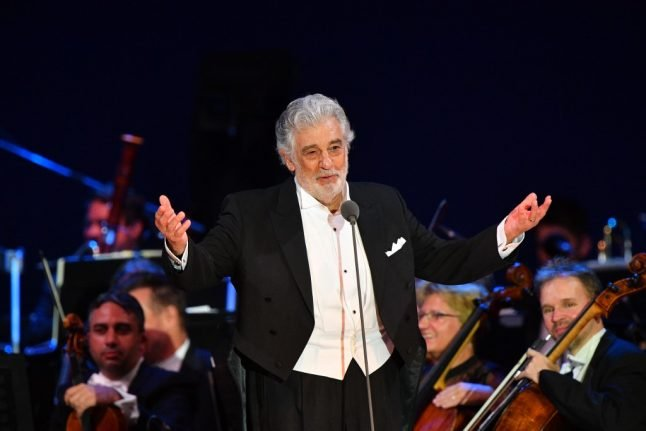 Spain cancels Placido Domingo show over sexual harassment scandal