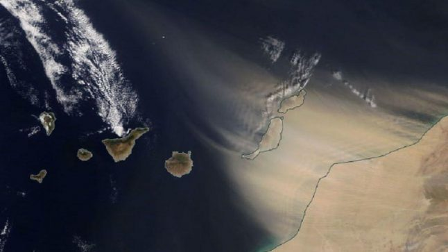 Sandstorm causes disruption on Spain's Canary Islands