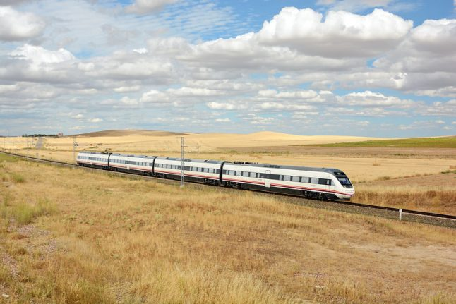 Spain's Renfe wins deal to build high speed rail service in USA