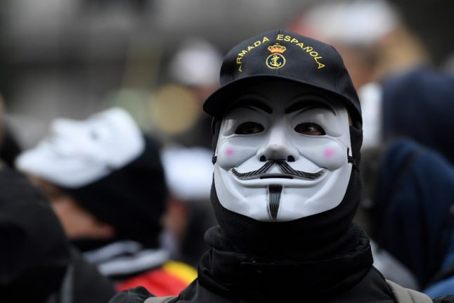 IN PICS: This is what it looks like when Spain's police take to the streets