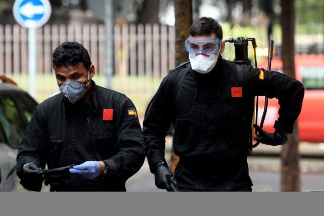 Spanish army discover bodies of abandoned elderly in care homes