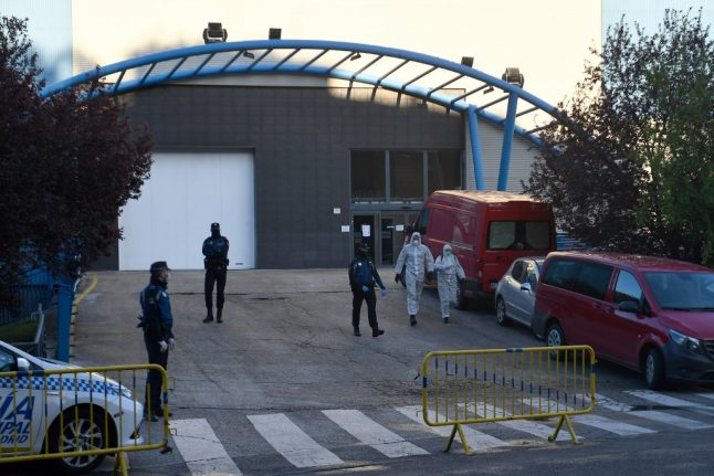 Madrid converts city ice rink into morgue to cope with coronavirus dead