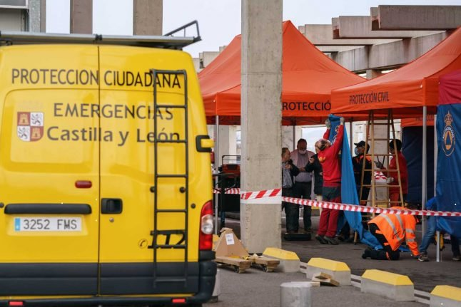 Madrid turns conference centre into 'Europe's biggest' field hospital