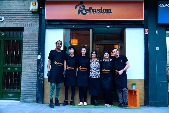 Welcome to the Madrid restaurant where the chefs are refugees