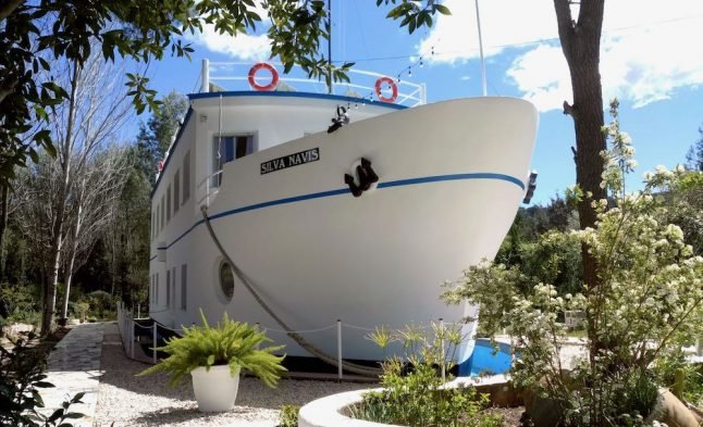 Spanish property of the week: A ship surrounded by forest in the Valencia hills