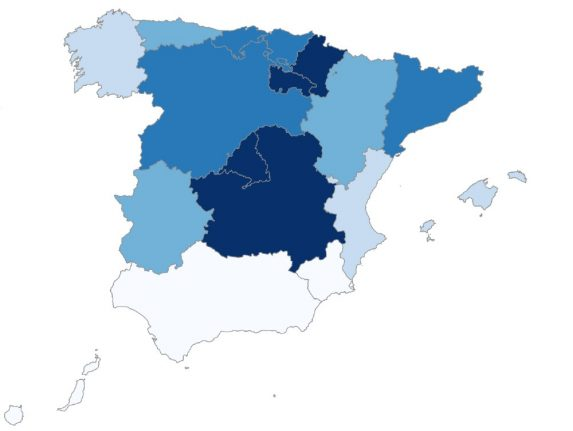 Coronavirus in Spain: Where are the worst and least affected regions?